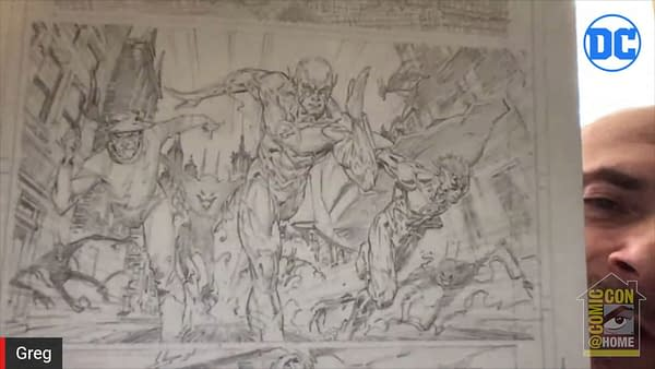 What Robin King Did to Barry Allen & Alan Scott in Death Metal #SDCC