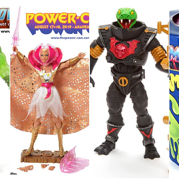 Masters of the Universe Power Con Exclusives Collage