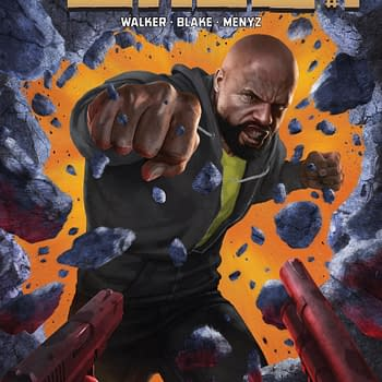 Luke Cage #1 Review &#8211 A Rather Stark And Sterile Art Design But It Works Out