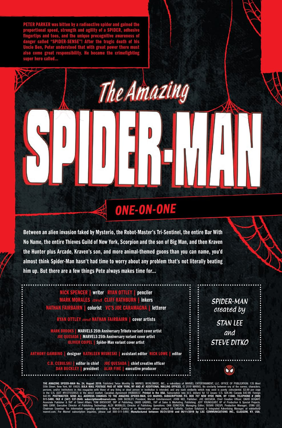 """Spidey Gets """"Romantic"""" with MJ in Amazing Spider-MAn #24 (Preview)"""