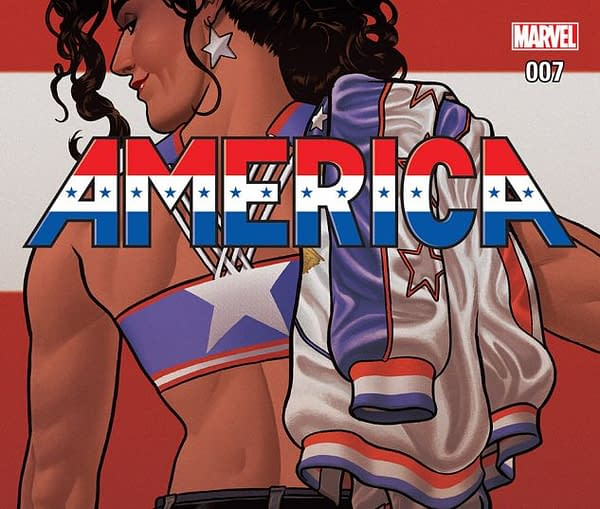 America #7 cover by Joe Quinones