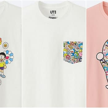 Doraemon uniqlo line 2018
