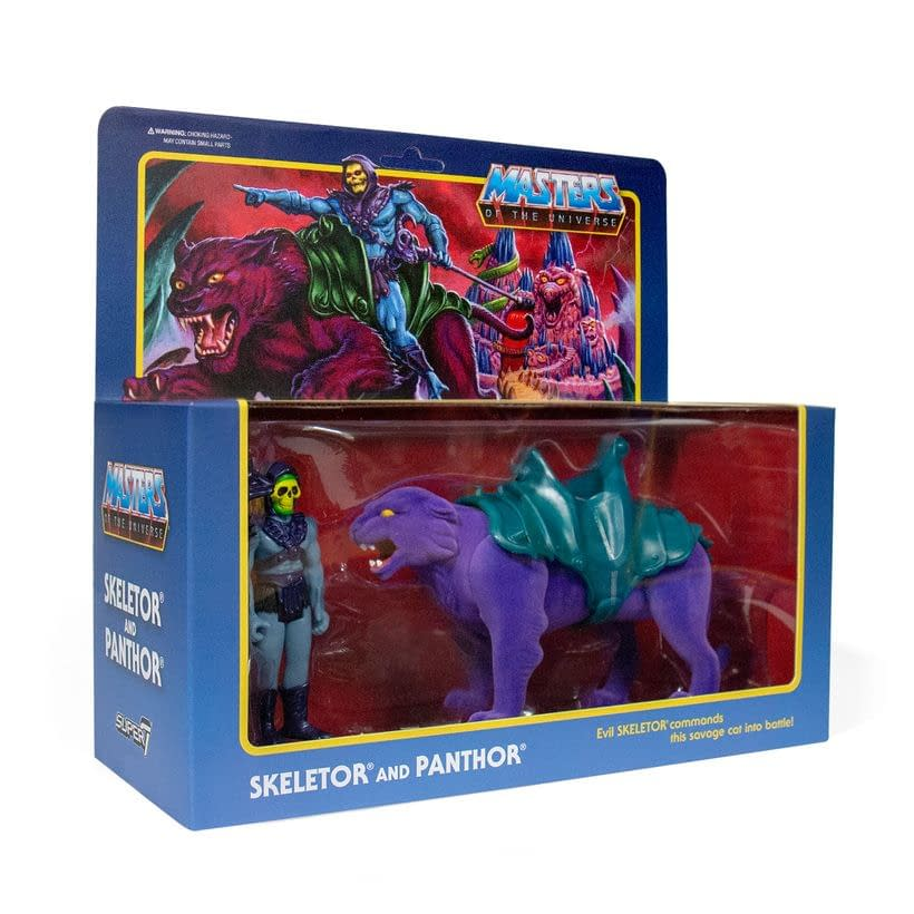 Super7 ReAction Figures: My Pet Monster and MOTU Beasts Available Now