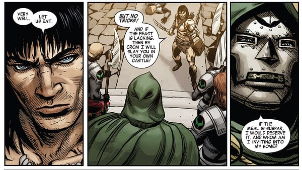 How Doctor Doom #2, and Amazing Spider-Man #33 Tell Very Similar, But Flipped, Stories Today (Spoilers)