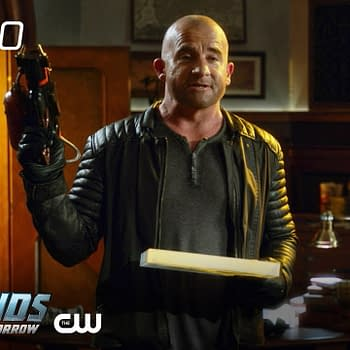 Rory has a guest on board in DC's Legends of Tomorrow, courtesy of The CW.