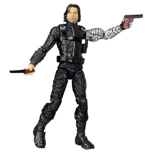 Marvel Legends Civil War Winter Soldier