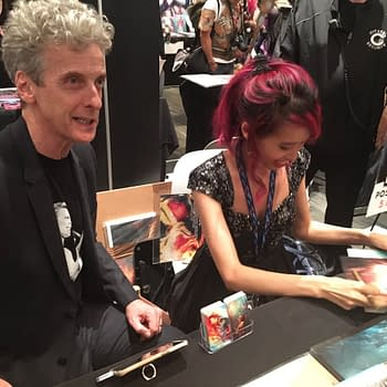 Peter Capaldi at New York Comic Con 2017