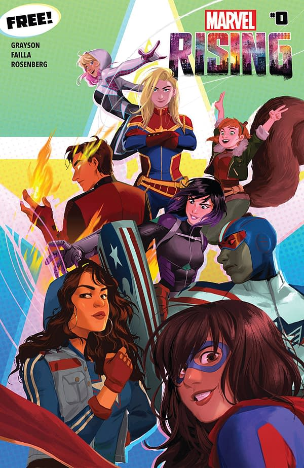 Marvel Rising #0 by Helen Chen