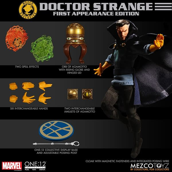 One12 Collective 1st Apperance Doctor Strange NYCC Exclusive 11