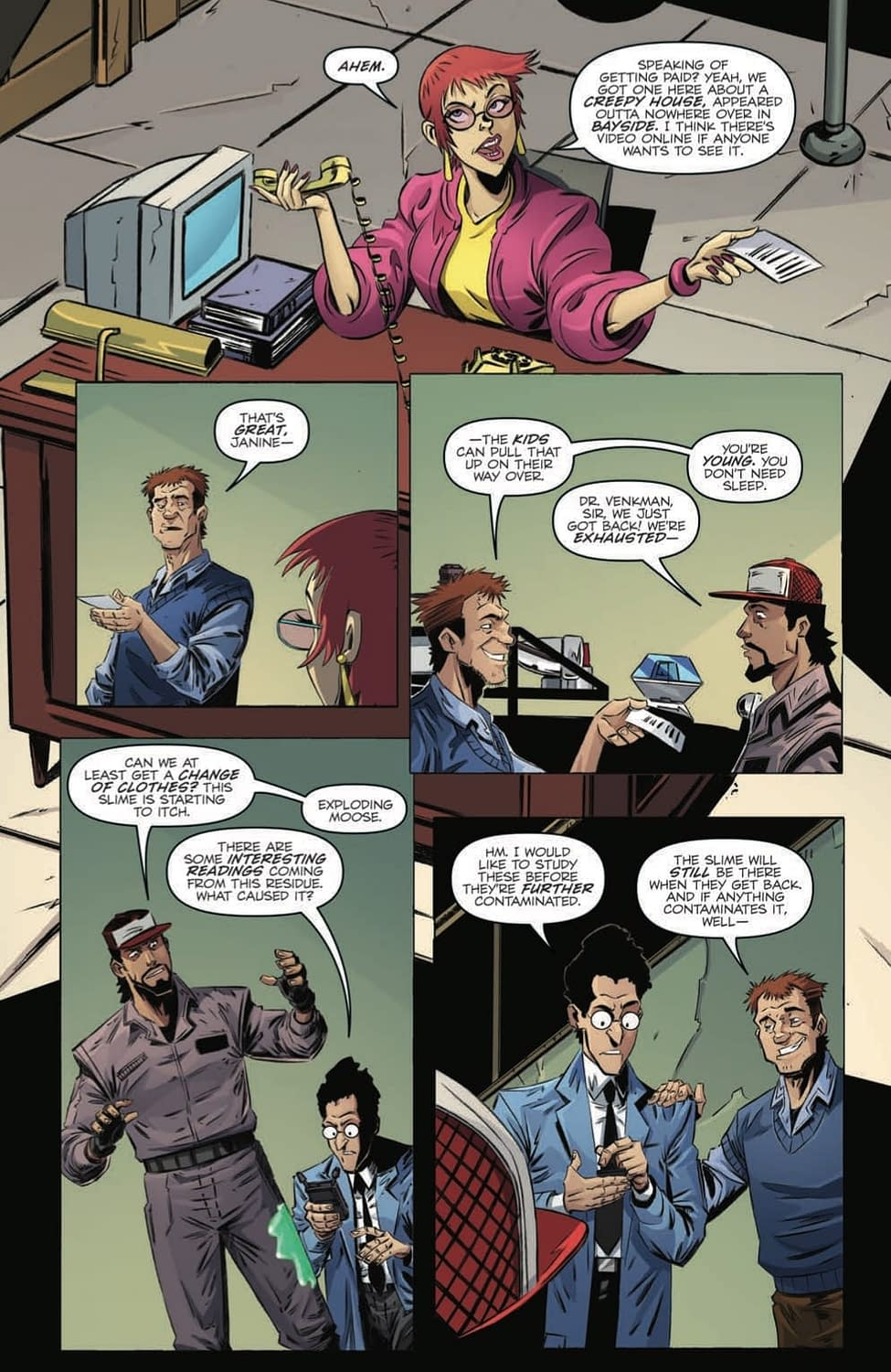 The Ghostbusters Get Old in Tomorrow's Ghostbusters 20/20