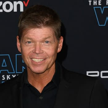 "Rob Liefeld attends the premiere of Disney's ""Star Wars: The Rise of Skywalker"" on December 16, 2019 in Hollywood, California. Editorial credit: Silvia Elizabeth Pangaro / Shutterstock.com"