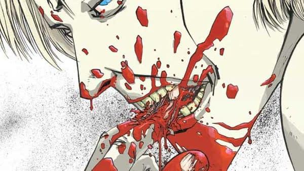 Couverture Nailbiter # 1. Art par Mike Henderson
