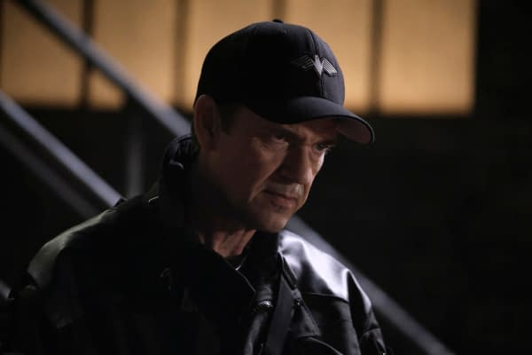 Dougray Scott as Jacob Kane in Batwoman, courtesy of The CW.