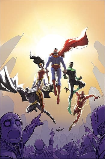 Constantine Writer Si Spurrier, Takes On Justice League Ongoing With Aaron Lopresti and Matt Ryan