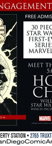 Howard Chaykins Art From The Very First Star Wars Comic Is On Show Tomorrow. As Is Howard Chaykin.