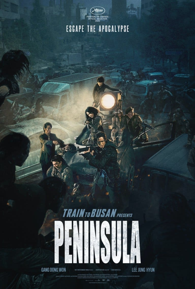 Two New Train To Busan: Peninsula Posters Debut Online