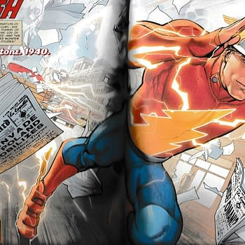 Jay Garrick Was Now Inspired By Wonder Woman in 1940 - Flash #750 Spoilers