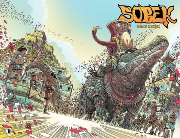 James Stokoe Tops Eisner Award Nominations For 2020.