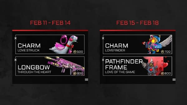 Apex Legends Launches The Valentines Day Rendevouz Event