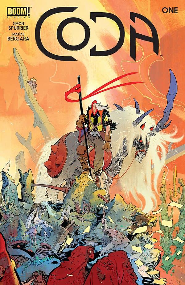 Coda #1 cover by Matias Bergara