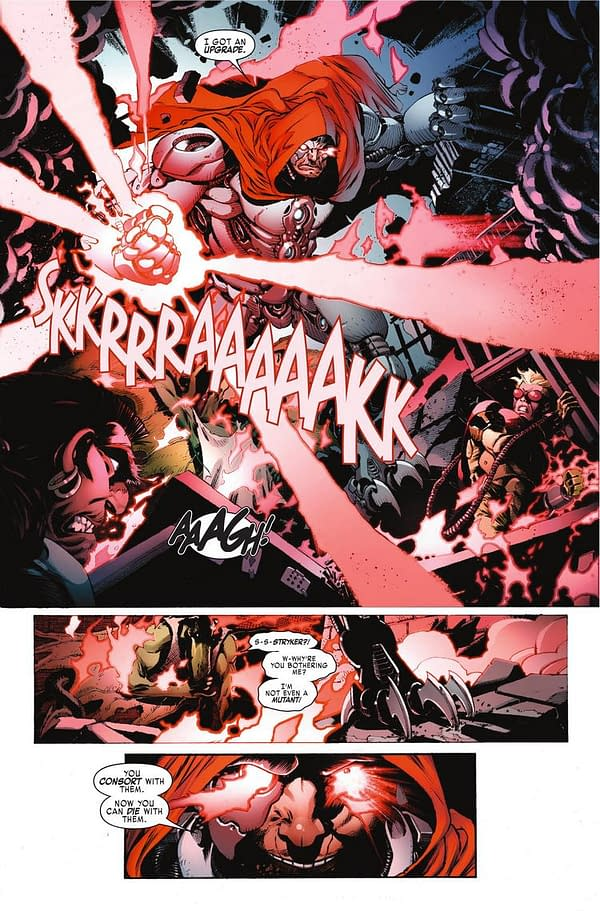 Have You Ever Heard a Sabretooth Apologize? A Preview of Weapon X #24