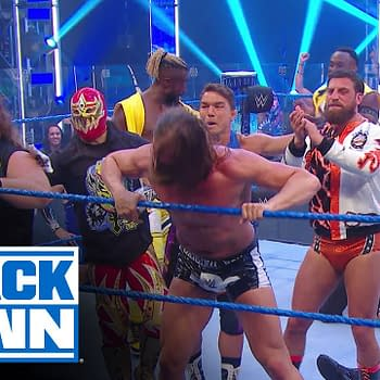WWE Smackdown 7/17/20 Part 1 &#8211 Morrison vs. Van Damme