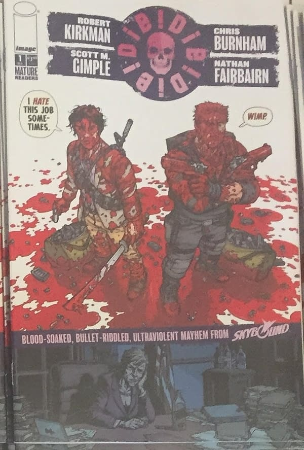 There Are at Least 11 Different Covers for Robert Kirkman's Surprise Comic Die!Die!Die!, Out Tomorrow