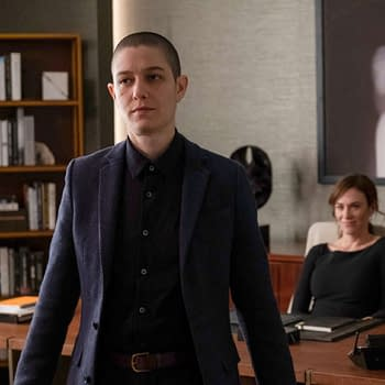 Asia Kate Dillon stars in Billions (Image: Showtime).