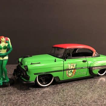 DC Bombshells Jada Toys Hollywood Rides Car Week: Poison Ivy