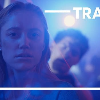 Maika Monroe stars in The Stranger, courtesy of Quibi.