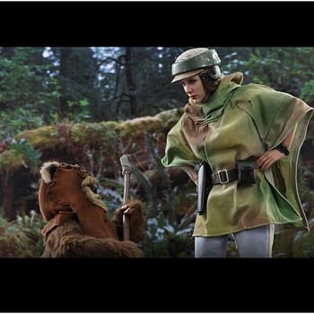 """""""Return of the Jedi's"""" Leia and Wicket Come to Life with Hot Toys"""