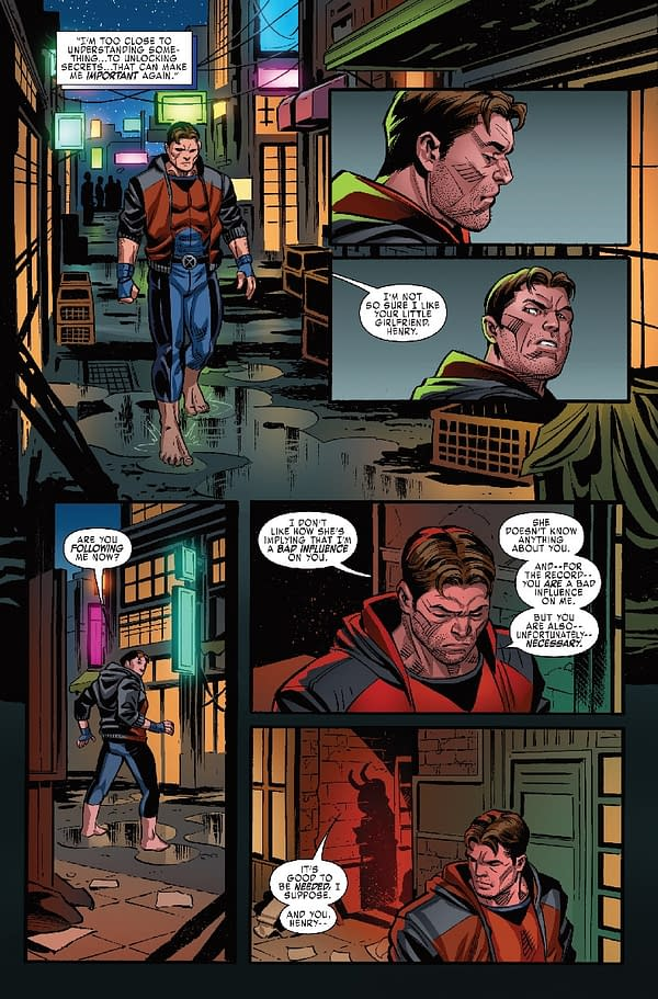 X-Men: Blue #10 Interior Art