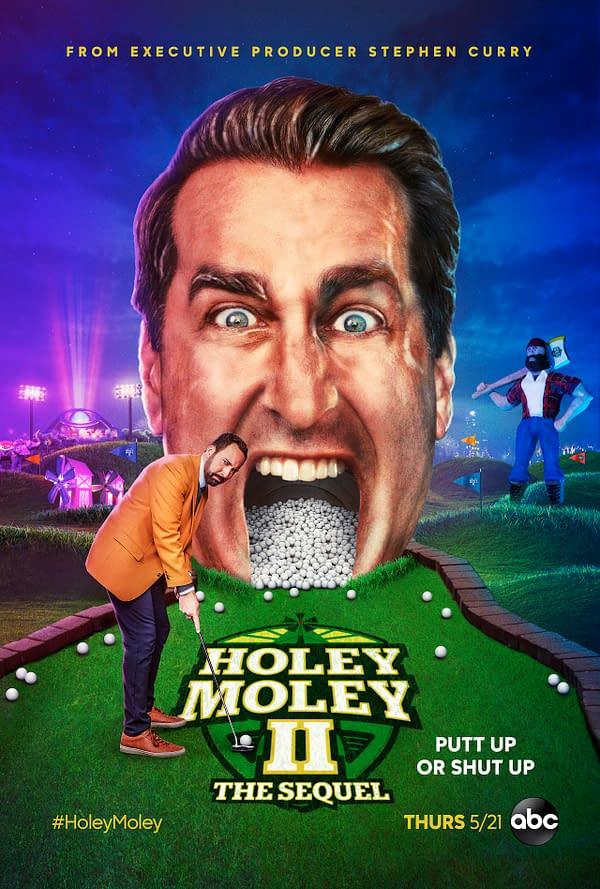 HOLEY MOLEY II: THE SEQUEL - Key Art. (ABC)