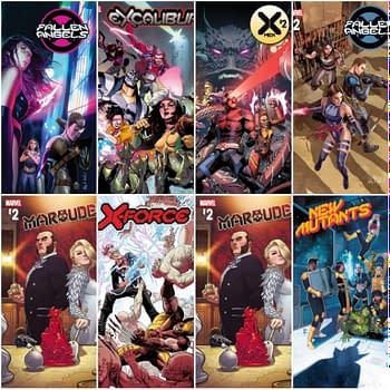 Marvel Comics November 2019 Solicitations For #DawnOfX X-Men X-Force New Mutants Fallen Angels Marauders and Excalibur