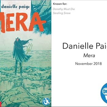 Dorothy Must Dies Danielle Paige Talks Mera &#8211 and How it Started as an Aquaman Little Mermaid Story