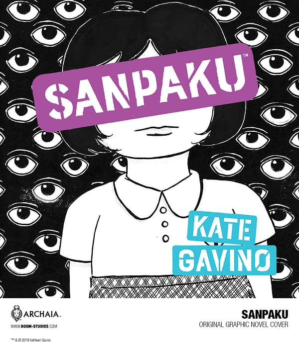Kate Gavino's Sanpakue, a New Graphic Novel from Boom! in August