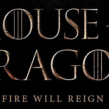The teaser logo for Game of Thrones spinoff series, House of the Dragon (Image: HBO)
