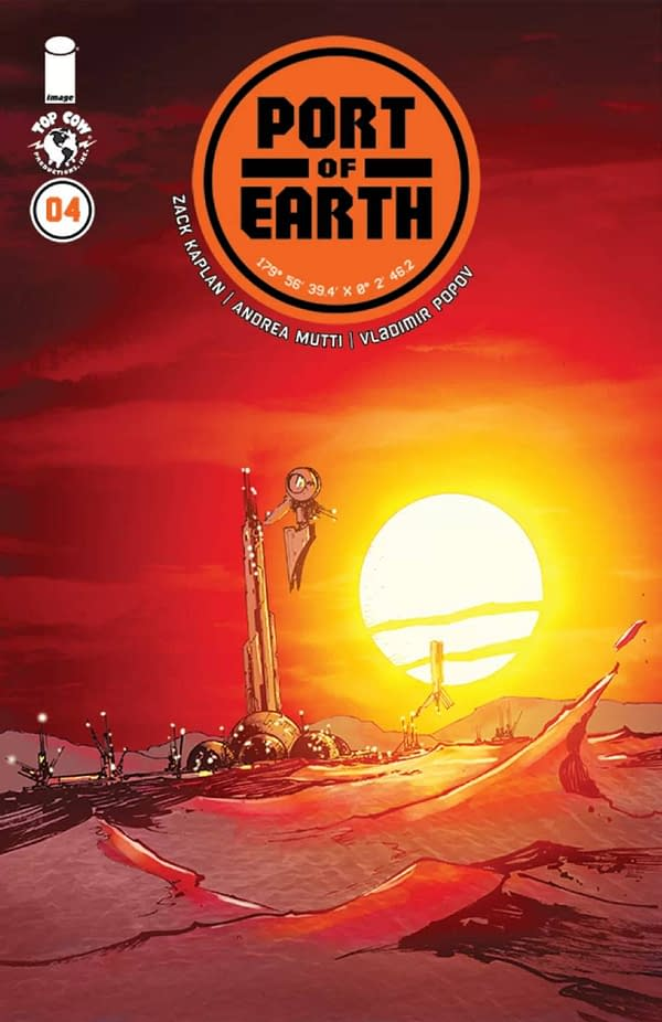 Port of Earth by Top Cow