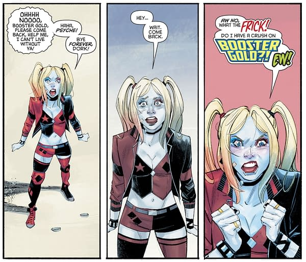 Harley Quinn Loves Booster Gold... To Death?