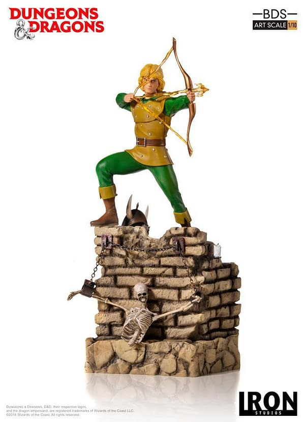 Dungeons and Dragons Cartoon Hank Statue