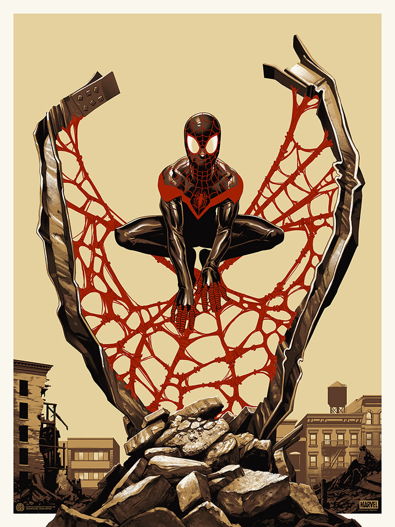Spider Man MIles Morales Spider-Verse Poster 2