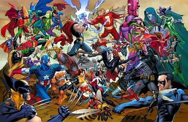 The Real Marvel vs. DC Will Be Happening Next Week [UPDATED]