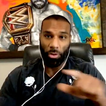 Jinder Mahal appears on WWE talk show The Bump ahead of the Backlash PPV.
