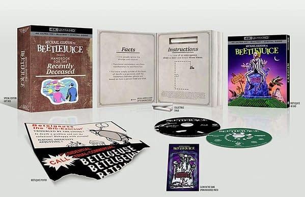 Beetlejuice arrive sur Blu-ray 4K plus tard cette année