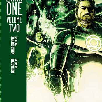 Hal Jordan and John Stewart Team Up in Greeen Lantern: Earth One Vol 2, Summer 2020