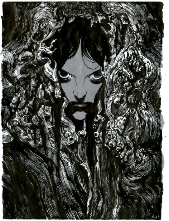 ANCIENTS, a piece by Becky Cloonan