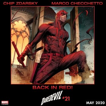 Daredevil to Wow Comic Readers in Classic Red Costume This May