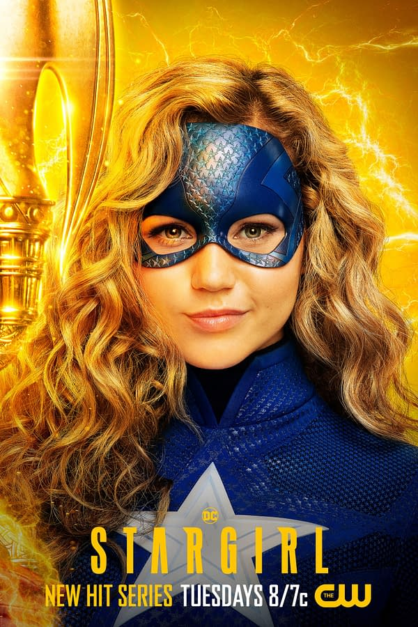 Brec Bassinger as Stargirl on Stargirl, courtesy of The CW.
