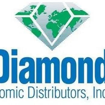 This is the logo to Diamond Comic Distributors
