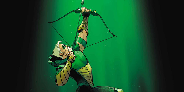 Cover to Green Arrow #30 by Otto Schmidt